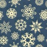Snowflake Xmas Patter Royalty Free Stock Image