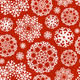 Snowflake Xmas Patter Stock Photography