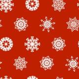 Snowflake Xmas Patter Stock Image