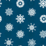 Snowflake Xmas Patter Stock Images