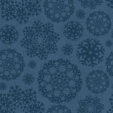Snowflake Xmas Patter Royalty Free Stock Photography