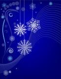 Snowflakebakgrund royaltyfri illustrationer