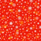 Snowflakes άνευ ραφής υπόβαθρο σχεδίων Στοκ φωτογραφία με δικαίωμα ελεύθερης χρήσης