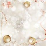 snowflakes έλατου Χριστουγέννων ανασκόπησης μπλε σκοτεινό darkly δέντρο 10 eps Στοκ Φωτογραφία
