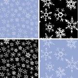 snowflakes ανασκοπήσεων Στοκ Εικόνες
