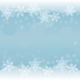 snowflakes ανασκόπησης διανυσματ Στοκ Εικόνα
