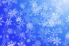 snowflakes ανασκόπησης χειμώνας Στοκ φωτογραφία με δικαίωμα ελεύθερης χρήσης