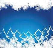 snowflakes ανασκόπησης διανυσματική απεικόνιση