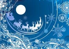 snowflakes ανασκόπησης ελεύθερη απεικόνιση δικαιώματος