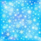 snowflakes απεικόνισης σχεδίου ανασκόπησης διακοσμητικό γραφικό διάνυσμα Στοκ Εικόνα