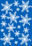 snowflakes απεικόνισης Στοκ Εικόνες