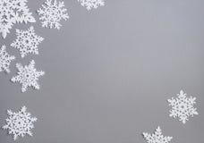 snowflakes εγγράφου Στοκ Φωτογραφίες