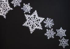 snowflakes εγγράφου Στοκ Εικόνα