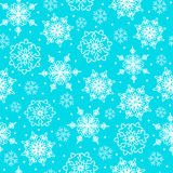 snowflakes λευκό Στοκ Εικόνες
