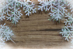 snowflakes λευκό Στοκ φωτογραφία με δικαίωμα ελεύθερης χρήσης