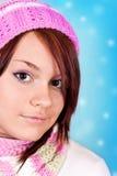 snowflakes κοριτσιών νεολαίες Στοκ Εικόνες