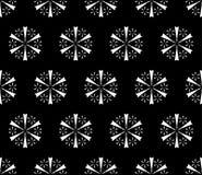 snowflakes σχέδιο Στοκ εικόνα με δικαίωμα ελεύθερης χρήσης