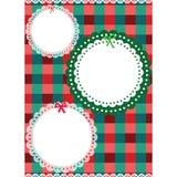 snowflakes σχεδίου Χριστουγέννων καρτών teddy παιχνίδι Στοκ Εικόνα