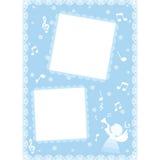 snowflakes σχεδίου Χριστουγέννων καρτών teddy παιχνίδι Στοκ εικόνα με δικαίωμα ελεύθερης χρήσης