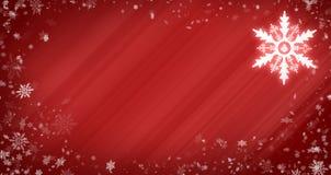 snowflakes Χριστουγέννων ανασκόπη&si Στοκ Φωτογραφίες