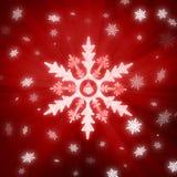 snowflakes Χριστουγέννων ανασκόπη&si Στοκ εικόνα με δικαίωμα ελεύθερης χρήσης