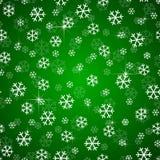 Snowflakes Χριστουγέννων διάνυσμα σχεδίου άνευ ραφής Στοκ Εικόνα