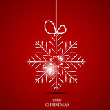 Snowflakes Χριστουγέννων διάνυσμα υποβάθρου Στοκ φωτογραφίες με δικαίωμα ελεύθερης χρήσης