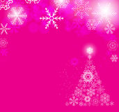 Snowflakes Χριστουγέννων διανυσματική απεικόνιση υποβάθρου ελεύθερη απεικόνιση δικαιώματος