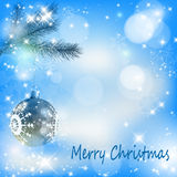 snowflakes Χριστουγέννων σφαιρών α&s απεικόνιση αποθεμάτων
