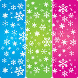 Snowflakes 1 Stock Photos