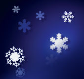 Snowflakes. Christmas, weather, patterns, Shapes, Background, snow crystals, snow, symmetrical Stock Photography