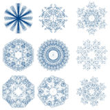 Snowflakes royalty free stock photos