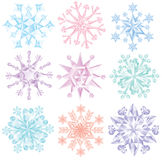 Snowflakes. Royalty Free Stock Image