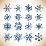 Snowflakes Royalty Free Stock Photography