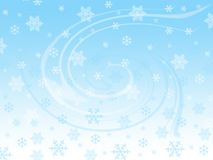 Snowflakes. Snow flakes and winter spirit Vector Illustration
