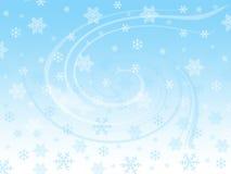 Snowflakes. Snow flakes and winter spirit Stock Photos