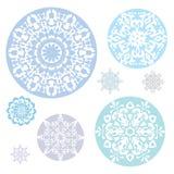 snowflakes Royaltyfri Fotografi