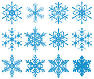 snowflakes Arkivfoton