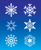 Snowflakes - 2 Royalty Free Stock Photo