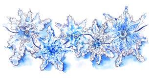 snowflakes Arkivfoto