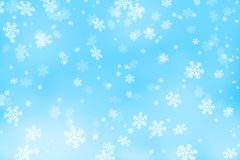 snowflakes stock illustrationer