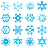 Snowflakes. Illustration of snowflakes design isolated on white background stock illustration