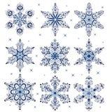 Snowflakes. Stock Photography