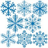 Snowflakes A Stock Photography