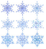 Snowflakes 3 Royalty Free Stock Photo
