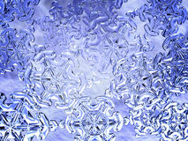 Snowflakes. Crystal snowflakes Royalty Free Stock Photos