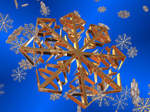 Snowflakes. Stock Images