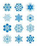 Snowflakes - 4 Royalty Free Stock Images