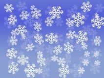 Snowflakes. Snowflake christmas illustration Royalty Free Illustration