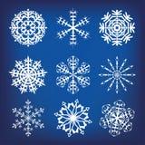 Snowflakes Στοκ φωτογραφίες με δικαίωμα ελεύθερης χρήσης